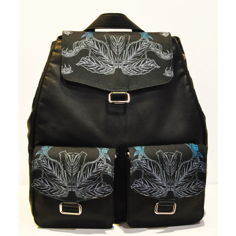 Artist Backpack (canvas with faux leather)