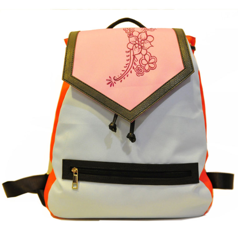 colorful backpack PF